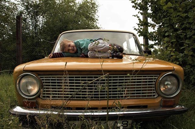milované staré auto