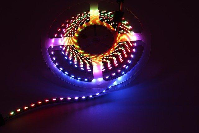 barevná světla